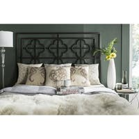 Safavieh Lucina French Gunmetal Quatrefoil Headboard (Queen)