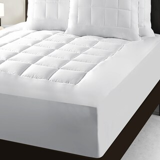 Maison Luxe Total Protection Waterproof Pillow Top Mattress Pad