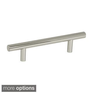 Amerock 6.125-Inch Polished Nickel Cabinet Bar Pull (Pack of 5)