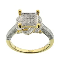 10k Yellow Gold 5/8ct TDW Diamond Ring