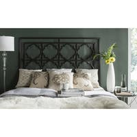 Safavieh Silva Gunmetal Geometric Headboard (Queen)