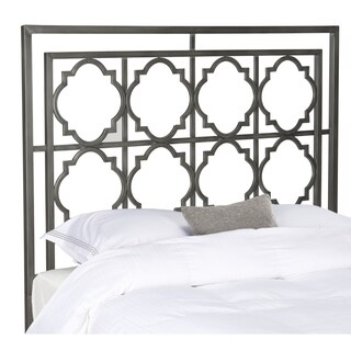 Safavieh Silva Antique Iron Metal Geometric Headboard (Full)