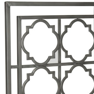 Safavieh Silva Antique Iron Metal Geometric Headboard (Queen)