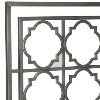 Safavieh Silva Antique Iron Metal Geometric Headboard (Queen)