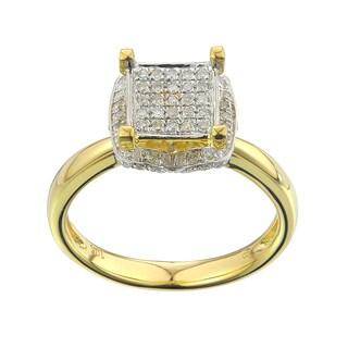 10k Yellow Gold 1/3ct TDW Diamond Ring (G-H , I2-I3)