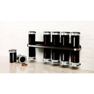 Honey-Can-Do Zero Gravity Wall-Mount Magnetic Spice Rack