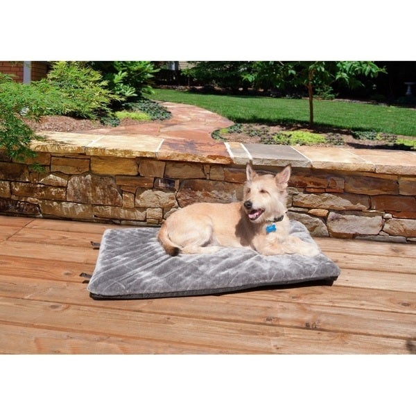 FurHaven Pet Quilted Plush Orthopedic Crate/Kennel Mattress Dog Bed