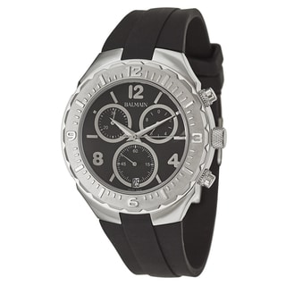 Balmain Men's 'Balmainia' Stainless Steel Swiss Quartz Watch