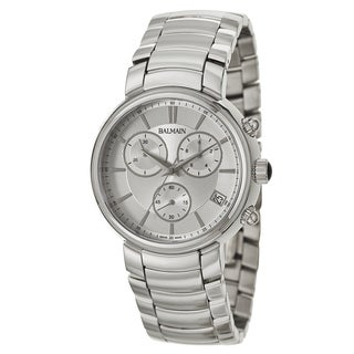 Balmain Men's 'Madrigal' Stainless Steel Swiss Quartz Watch