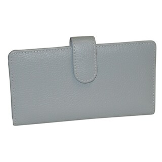 Buxton Hudson Buttersoft Leather Checkbook Cover