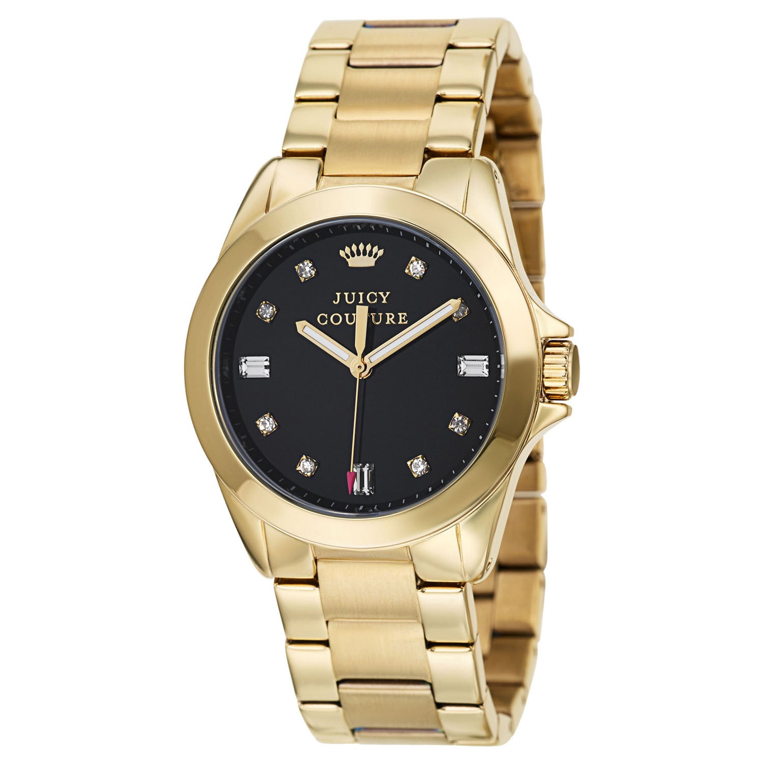 Juicy Couture Women's 'Stella' Stainless Steel Yellow Gol...