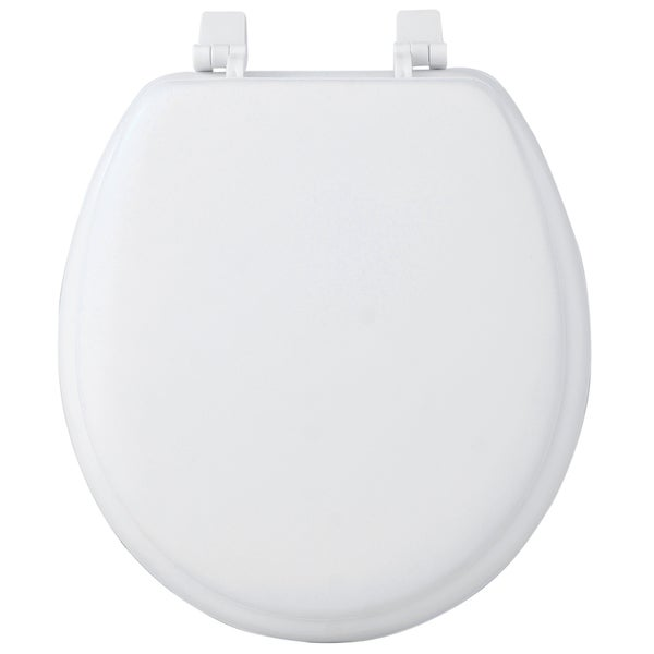 17 Inch Round Soft Cushion White Toilet Seat Free Shipping On Orders Over