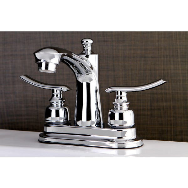 Shop Euro Chrome 4 Inch Center Bathroom Faucet Free Shipping Today 10329544