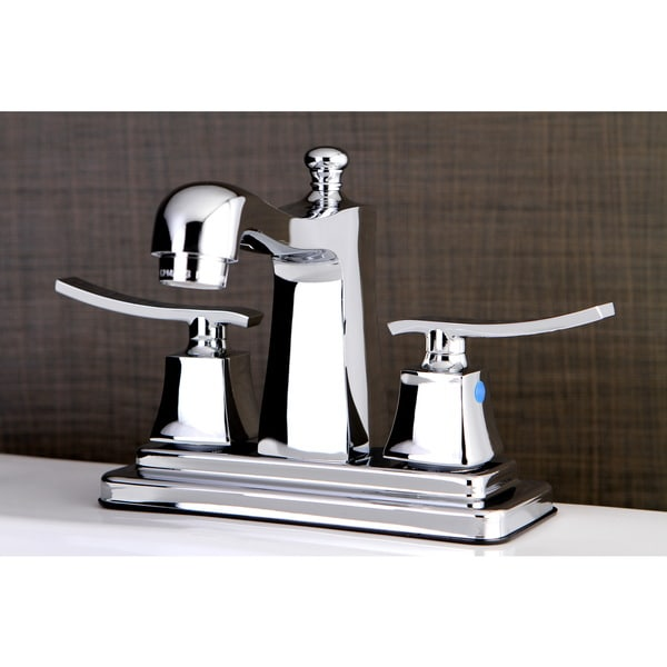 Shop Euro Chrome 4 Inch Center Bathroom Faucet Free Shipping Today 10329546