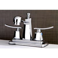 Euro Chrome 4-inch Center Bathroom Faucet