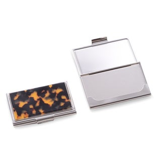 Tortoise Design Business Card Case