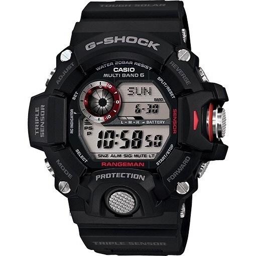Casio Men's GW-9400-1CR 'G-Shock' Digital Black Resin Wat...