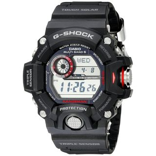 Casio Men's GW-9400-1CR 'G-Shock' Digital Black Resin Watch