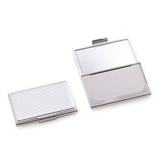 Checkered Design Business Card Case