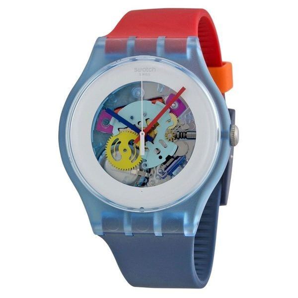 b7e041ccd2fc Shop Swatch Unisex SUOS101  Original  Colorful Silicone Watch - Free  Shipping Today - Overstock - 10329609