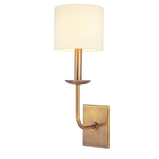 Hudson Valley Kings Point 1-light Wall Sconce, Aged Brass