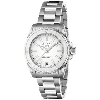 Gucci Women's YA136402 'Dive' Stainless Steel Watch
