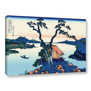 ArtWall Katsushika Hokusai 'Lake Suwa In The Shinano Province' Gallery-wrapped Canvas