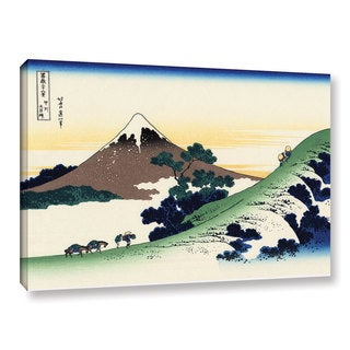 ArtWall Katsushika Hokusai 'Mt Fuji In The Sunset' Gallery-wrapped Canvas
