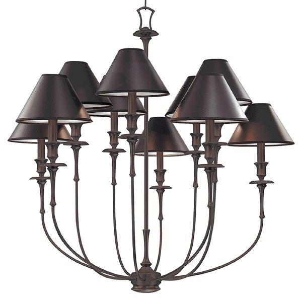 Hudson Valley Lighting Website: Shop Hudson Valley Jasper 10-light Chandelier, Old Bronze