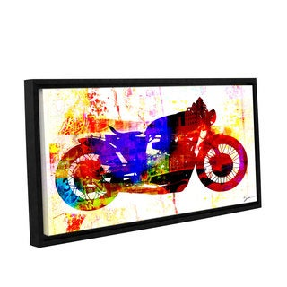 ArtWall Greg Simanson 'Moto Iii' Gallery-wrapped Floater-framed Canvas