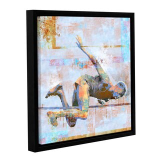 ArtWall Greg Simanson 'Jump' Gallery-wrapped Floater-framed Canvas