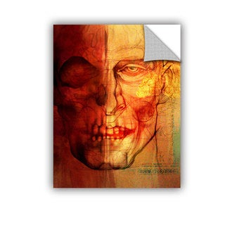 ArtAppealz Greg Simanson 'Facial Anatomy' Removable Wall Art