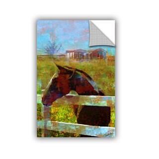 ArtAppealz Greg Simanson 'Horse Field' Removable Wall Art