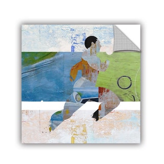 ArtAppealz Greg Simanson 'Runner' Removable Wall Art