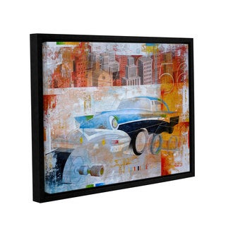 ArtWall Greg Simanson '56' Gallery-wrapped Floater-framed Canvas