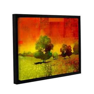 ArtWall Greg Simanson 'Drenched Grace' Gallery-wrapped Floater-framed Canvas