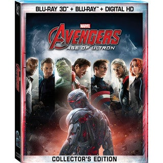 Marvel's Avengers: Age Of Ultron 3D (Blu-ray Disc)