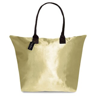 Peach Couture KYLIE Solid Beige Plage a Main Waterproof Tote