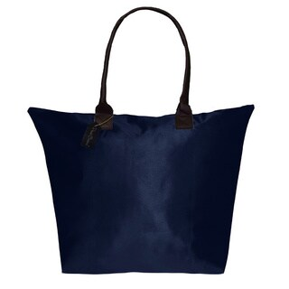Peach Couture KYLIE Solid Navy Plage a Main Waterproof Handbag