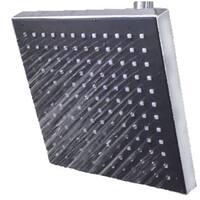 Sunbeam Jumbo Square Rainfall Shower Head - Silver