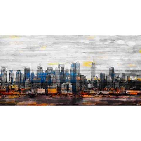 Parvez Taj 'New York Colors' Painting Print