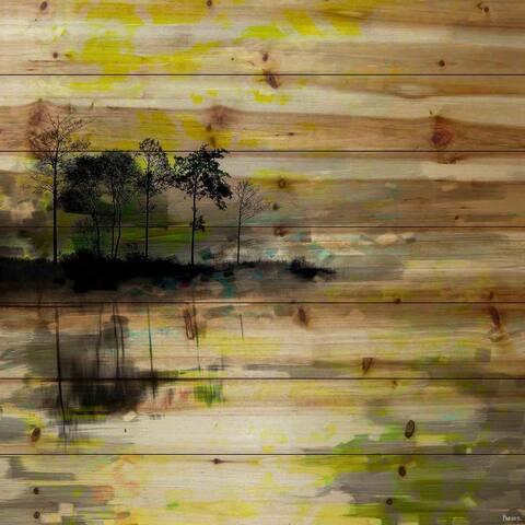 Handmade Parvez Taj - Oshawa Print on Natural Pine Wood