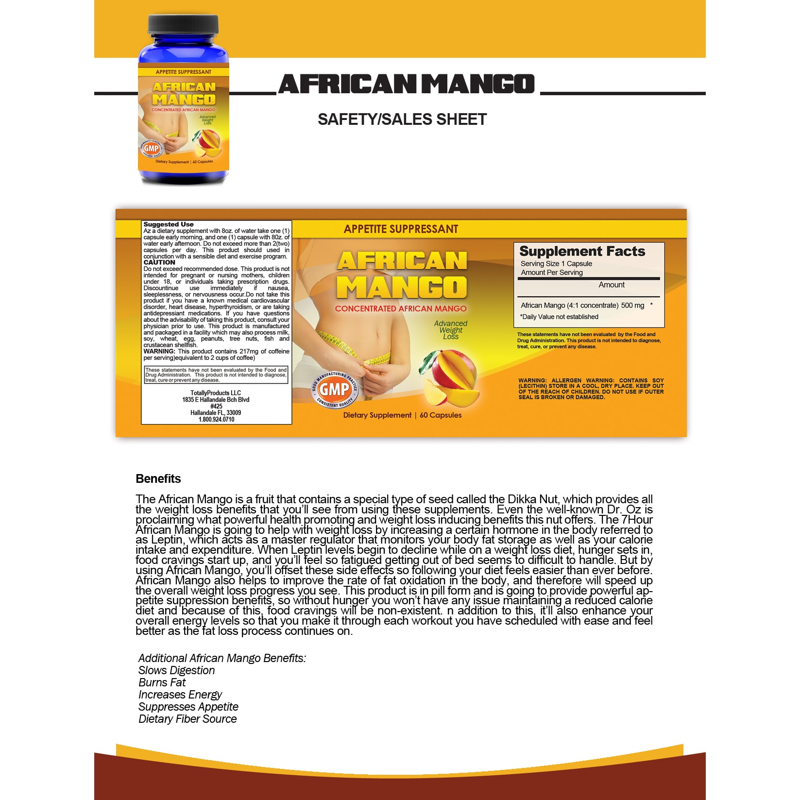 Shop Totally Products African Mango Superfruit And Night Slim