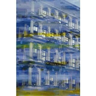 Parvez Taj 'NYC Architecture' Canvas Art