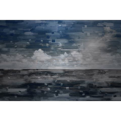 Parvez Taj 'Penzance' Painting Print on Brushed Aluminum