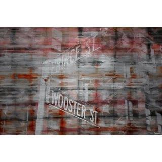 Parvez Taj 'Prince & Wooster' Painting Print on Brushed Aluminum
