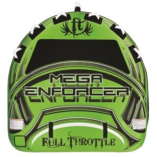 Full Throttle Mega Enforcer 80-inch D-Shaped Tube Green