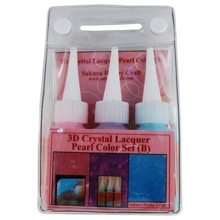 Sakura 3DCL Pearl Color Lacquer Set B 03034 Hobby Craft (Set of 3)