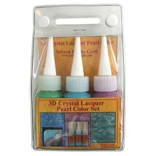 Sakura 3DCL Pearl Color Lacquer Set A 03033 Hobby Craft (Set of 3)