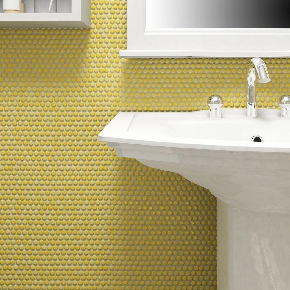 Yellow Bathroom Floor Tiles - Siswanto Floor